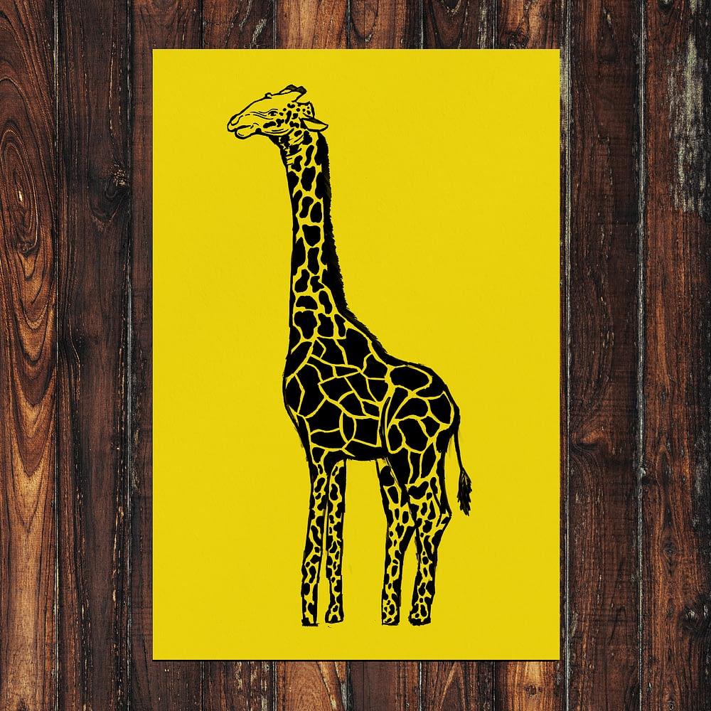 Giraffe 2 Print