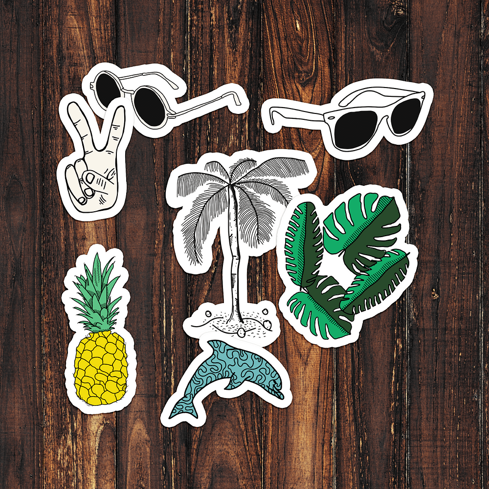 Summer Pack Stickers